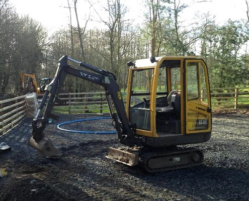 Paul Wood Builders Plant Hire in Northumberland